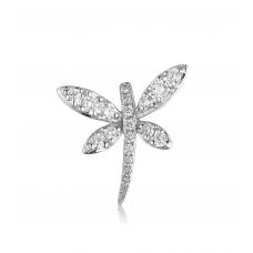 Pabel Butterfly Diamond Pendant 18K White Gold