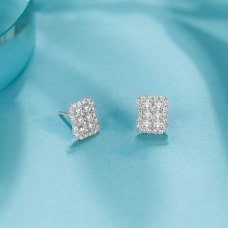 Quinn Diamond Earring 18K White Gold