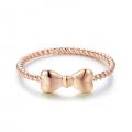 Eunseo Ring 14K Yellow and Rose Gold