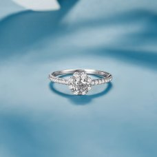 Re'nus Diamond Ring 18K White Gold