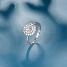 Lebrey Diamond Ring 18k White Gold