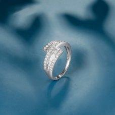 Geniva Diamond Ring 18K White Gold