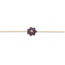 Clemensia Ruby Diamond Bracelet 18K Yellow and Black Gold