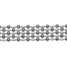 Atticus Prong Diamond Bracelet 18K White Gold