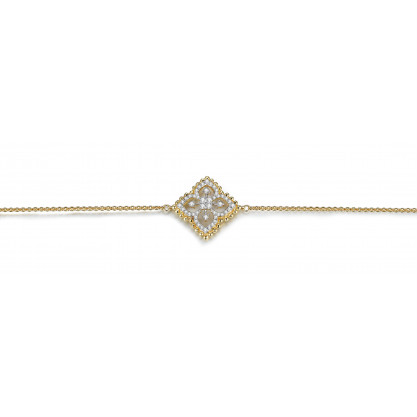 Latoya Prong Diamond Bracelet 18K Yellow Gold
