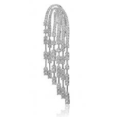 Angelic Diamond Earring 18k White Gold