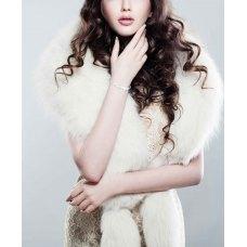 Larissa Prong Diamond Bangle 18K White Gold