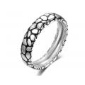 Vida Wedding Ring 18K White and Black Gold(Pair)