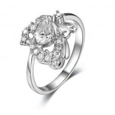 Persis Prong Diamond Ring 18K White Gold