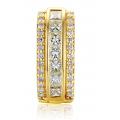 August Prong Diamond Earring 18K White Gold