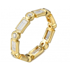 Kiara Bezel Diamond Ring 18K Yellow Gold