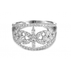 Toriana Diamond Ring 18K White Gold