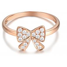 Alissa Pave Diamond Ring 18K Rose Gold