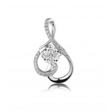 Phanta Diamond Pendant 18K White Gold