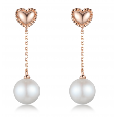 Yen Jung Pearl Earring 14K Rose Gold