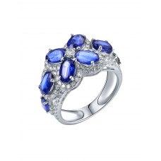 Cupo Kynite Diamond Ring 18K White Gold