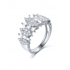 Lislei Diamond Ring 18K White Gold
