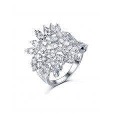 Stella Marquise Diamond Ring 18K White Gold