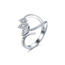 Mion Diamond Ring 18K White Gold