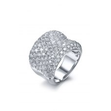 Theorias Diamond Ring 18K White Gold