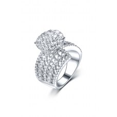 Lollie Diamond Ring 18K White Gold