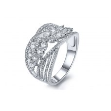 Palast Marquise Diamond Ring 18K White Gold