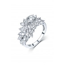 Vexana Diamond Ring 18K White Gold