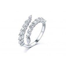 Otoño Diamond Ring 18K White Gold