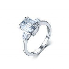 Twainia Diamond Ring 18K White Gold