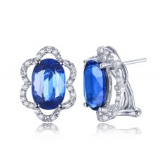 Tylas Gems Diamond Earring 18K White Gold