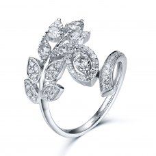 Marvin Diamond Ring 18K White Gold