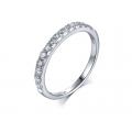 Krinel Diamond Engagement Ring Casing 18K White Gold (2 in 1)