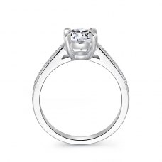 Kadys Diamond Engagement Ring Casing 18K White Gold