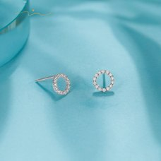 Wiesta Diamond Earring 18K White Gold