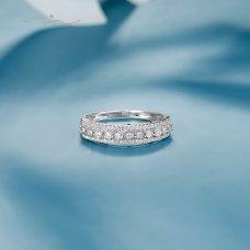 Fevlin Diamond Ring 18K White Gold