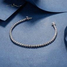 Leison Diamond Bracelet 18K White Gold