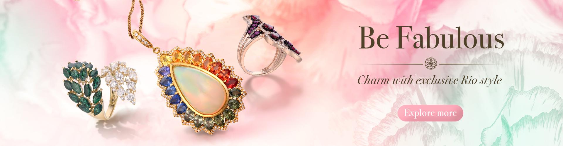Diamond Rings, Jewellery Online Singapore | Rio Diamond
