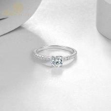 Yara Diamond Engagement Ring Casing 18K White Gold / Platinum