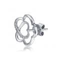 Abril Diamond Earring 18K White Gold