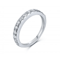 Winns Diamond Engagement Ring Casing 18K White Gold (2 in 1)