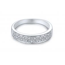 Tahoe Prong Diamond Ring 18K White Gold
