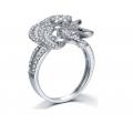 Drake Prong Diamond Ring 18K White Gold