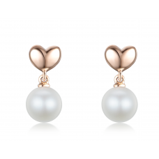 Joo Won Pearl Earring 14K Rose Gold