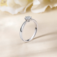 Kyong Solitaire Engagement Ring Casing 18K White Gold / Platinum
