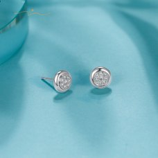 Fonial Diamond Earring 18K White Gold