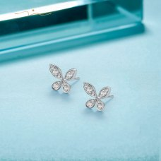 Thien Diamond Earring 18K White Gold