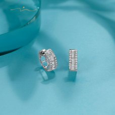 Xion Diamond Earring 18K White Gold