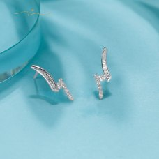Quintas Diamond Earring 18K White Gold