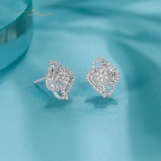Kerlin Diamond Earring 18K White Gold