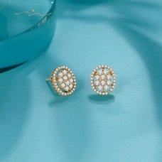 Kyun'Dae Diamond Earring 18K White Gold